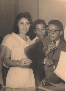 Piky con Con Asdrúbal Domínguez (a la derecha)
