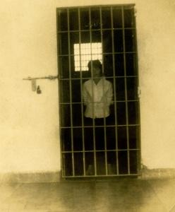 Penitenciaría Nacional de ''La Victoria'' celda c-24 ,  25-D